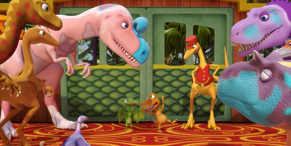 Поезд Динозавров - новые приключения